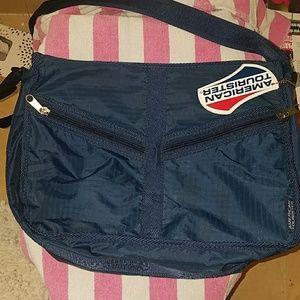 American tourister long strap bag